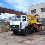 Услуги дорожно-строительной техники - автокран
