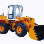 Услуги дорожно-строительной техники - фронтальный погрузчик