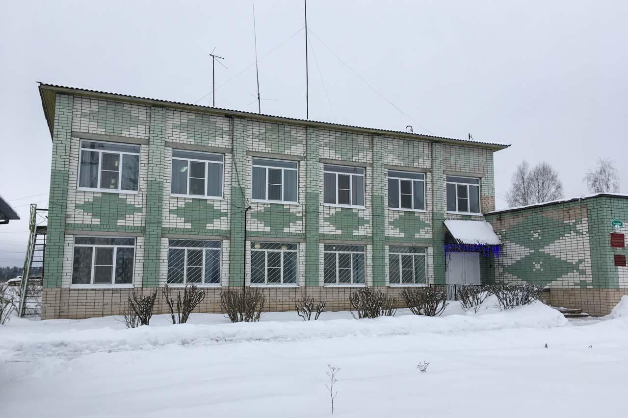 Административное здание ООО Вельскмелиорация