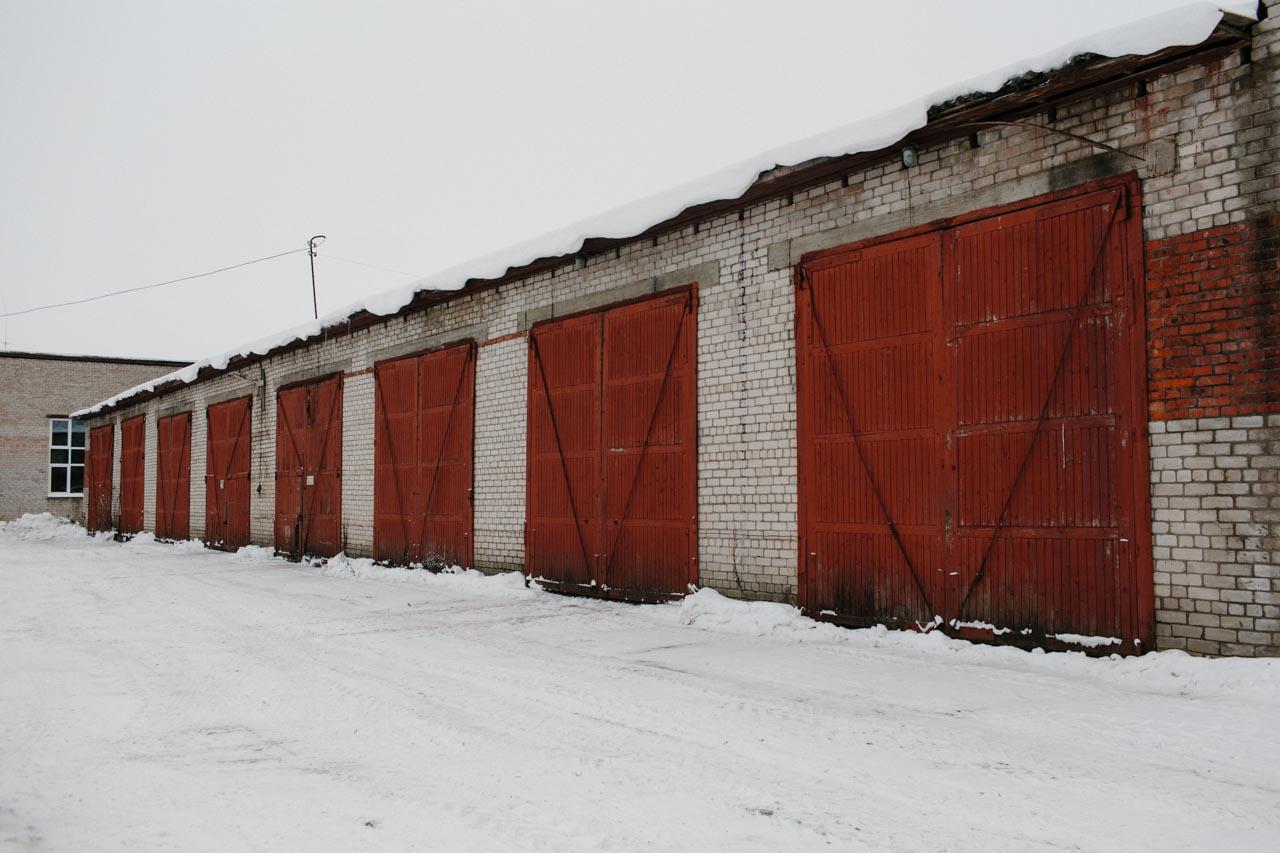 Аренда теплых боксов для грузовых машин